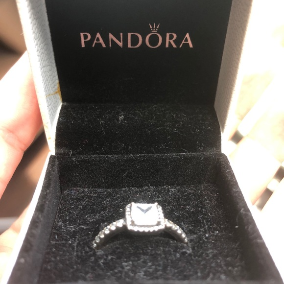 Pandora Jewelry - Silver Timeless Elegance Pandora ring